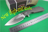 Folding Blade Microtech DOC folding knives  HOT SALE!!Free shipping Wild Boar & Microtech & Strider knives Marfione Custom DOC folding Knife ,high-end Titanium handle D2,AKC knives