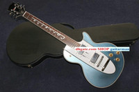 6 Strings guitar parts - 1960 Corvette Guitar Custom shop Electric guitar IN blue Classic electric guitar chromium parts New Style