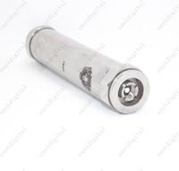 Electronic Cigarette Battery  Wholesale - Mechanical King Mod Locking Bottom Button Adjustable Airflow Clone Mod VS Chiyou Bagua Hammer Nemesis Kayfun Electronic Cigarett