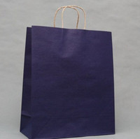 Paper shopping bags paper - KRAFT BROWN PAPER GIFT BAGS SHOPPING BAGS Retail Shopping Gift Packaging gift bags