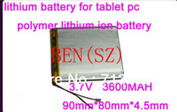 Wholesale 3 V mAH polymer lithium ion battery Li ion battery for tablet pc inch inch speaker