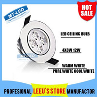 12W led ceiling light - Retail High power Led ceiling lamp W W Led Bulb V LED lighting bulb led light downlight spotlight with led drive
