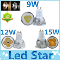 Wholesale Dimmable W W W MR16 E27 E26 GU10 LED spot bulbs light warm natrual cool white led lights beam angle V V