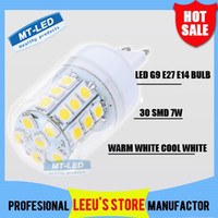 Wholesale DHL High Power Led corn bulb SMD W W V G9 E27 E14 LED Lamp Beam Angle LED Light lighting warranty years