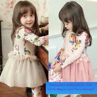 Cheap Girl spring dress Best Spring / Autumn Long baby clothing
