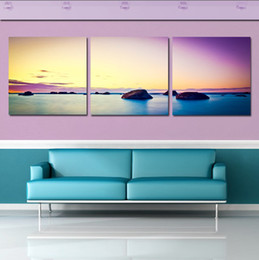 Wholesale 3 Piece Hot Sell Modern Wall Painting Home Decorative Art Picture Paint on Canvas Prints Beautiful reefs in the ocean
