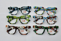 Wholesale Hot Mix Colors Fashion Kids Camo Sun Glasses Frames Retro no Lens Frame Cool Nerd Geek Glasses z05