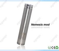 Electronic Cigarette Battery  Nemesis mod mechanical mod electronic cigarette with KICK variable voltage VS King MOD Bagua Hammer Chiyou Kayfun