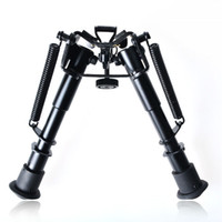 Wholesale Stud quot to quot Adjustable Spring Sniper Hunting Rifle Bipod W Sling Swivel Mount by Singapore Post with tracking number