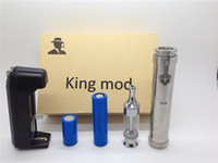 Electronic Cigarette Set Series mechanical mod Chiyou chi you bagua nemesis king caravela telescope full mechanical mod starter kit with protank 2 clearomizer and 18350 18650 battery DHL