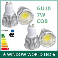 Wholesale 7W Cob LED E27 B22 MR16 E14 LED light Bulb Angle Warm Natural Cool White LED Spotlight Lamps V V