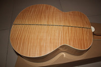 La venta caliente a estrenar de la guitarra SJ200 Burlywood NA de 43 pulgadas acústicas guitarras eléctricas con Fishman Caso