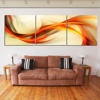 More Panel art line canvas print - 3 Panel Modern Painting Home Decorative Art Picture Paint on Canvas Prints The colour of fly line