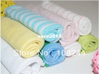 Wholesale Little baby feeding towel small towel feeding towel handkerchief toweling bib handkerchiefs installed