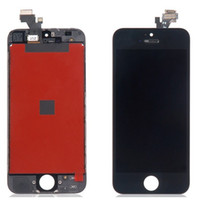 For Apple iPhone   100 Piece A+++ quality in low price Free Shipping iPhone 5s Touch Screen Panel Digitizer LCD Display Glass Replacement Part For Black