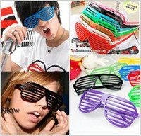 Wholesale 2014 new European fashion sunglasses women men Blinds masquerade party apparel accessoriess glasses personality wild YJ5016