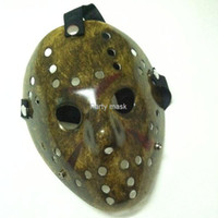 Wholesale Jason Voorhees Freddy hockey festival party Halloween masquerade mask adult size gram