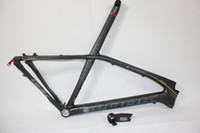 Wholesale LOOK E Post Carbon MTB Frame Carbon Mountain Bike Frame with STEM er Black