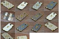 For Samsung Leather White Wholesale 10pcs lot Luxury back cover Case for Samsung Galaxy Note 3 III Note3 N9000 phone 2014 New