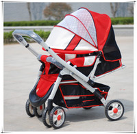 no 001 Strollers Free Of Shipment,Good Quality, Four Wheels, Free Use In Summer To Winter,Easy to Moved and Installed Triple Stroller