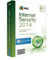 Antivirus & Security Home Windows Genuine Newest protect AVG Internet Security 2014 AVG internet security antivirus software fully functional English Version 3users 4 years