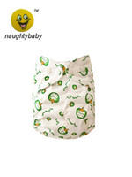 Wholesale 2014 NEW Happy Flute One Size Pocket Diaper Printed Baby Cloth Diapers inserts