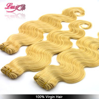 Hair Extension Yes Weaving Brazilian virgin body wave , 613# color , blonde human hair extension free shipping. 100g piece,2pcs lot