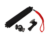 Wholesale New Extendable Handheld Telescopic Monopod Holder with Adapter for Gopro HD Hero Camera Accessories W0031A
