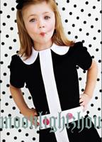 TuTu Summer A-Line Wholesale - 2014 girl dress fashion princess baby girls dresses kids children clothes turndown collar Cross 100% cotton Cheap tcq 005 W3