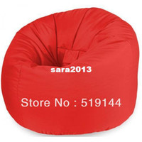 Wholesale bright red Classic Outdoor Beanbag leisure chair modern sofa high quality fashion kids bean bag seat