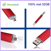 Wholesale Drop shipping GB GB GB OTG micro usb Smart Phone USB Flash Drives thumb pendrive memory stick u disk