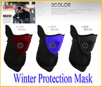 Wholesale Neoprene Neck Protection Half Face Mask Winter Veil Guard Sport Bike Bicycle Motorcycle Ski Snowboard