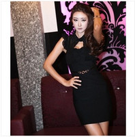 Wholesale Fashionable nightclub singer dress costumes DS technician Miss sauna suit skirt package hip Slim