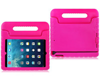 Enfant Enfants Bébé Safe EVA Light Poids Mousse ShockProof Handle Case Pour iPad 2 3 4 5 6 Air Air2 Mini Samsung Galaxy Tab 4 T230 T330 T530