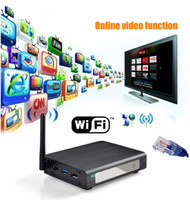 Wholesale R6S Media Player D Wifi Network H Blu ray Full HD p Video E SATA USB Media Player
