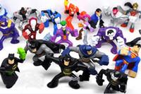 Wholesale superheroes action figures doll set of styes batman superman joker