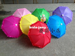 Wholesale Tracking Number Baby Gift Children Umbrella Toy Kids Umbrella Decoration Props Umbrella Laciness Christmas Gift