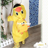 Wholesale Funny Kids Rain coat children Raincoat Rainwear Waterproof Animal Rain coat child rain slickers Cartoon Children Rain Coat