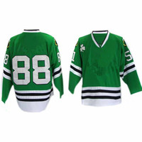Wholesale Blackhawks Patrick Kane Green Premier Hockey Jersey Discount Canada Ice Hockey Jerseys All Team Players Sportswear New Mens Shirt