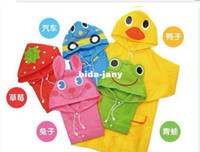 Wholesale High Quality Raincoat for Kids Boys Girls Rainwear Rain coat Cartoon Children Poncho Your Boys Waterproof Wear Girls Raincoat