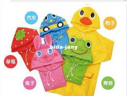 Alta qualidade capa de chuva para crianças meninos/meninas vestuário impermeável/casaco Cartoon crianças Poncho Your Boys impermeável vestir meninas Raincoat