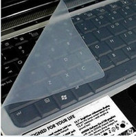 Waterproof laptop protective film - Hot Universal Notebook Computer Keyboard PC Silicon Protective Film Stickers laptop Keyboards waterproof skin case Membrane