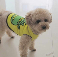Wholesale Dog vest fashion personality of pet clothes dog clothes