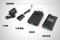 Wholesale LAN pat high capacity Canon d d2 d3 d mobile power external decode battery