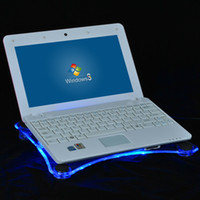 Wholesale Hot Sale Well Packaging Usb Port Laptop Cooling Pads Notebook Cool Mat With Fans Blue Led Light Computer Cushion