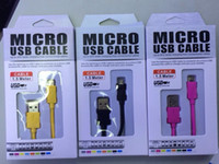Wholesale Colorful V8 Micro USB note3 USB iphone5s USB iphone4s Charger cable Adapter M FT Data Wire Sync colors Line for Samsung Blackberry ipad4