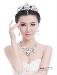New Free Shipping Cubic Zirconia Crystal Wedding Jewelry Sets African Jewelry Set Necklaces Earrings Fashion Jewelry