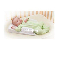 Back Polyester / Cotton Body,Sleeping,Bedding New Washable Baby Cotton Safe Pad Antiroll Sleep Safe Mat Child Pillow Free Shipping 670279