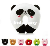 baby neck rest - 1PC Lowest Price NEW Cute Hoop Baby Infants Pillows Bee Dog Monkey Shape Car Seat Travel Head Neck Rest Soft Safty Pillow