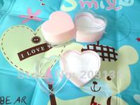 Jewelry Boxes   24pcs LOVE heart Jewelry Pink Ring Box ,+free shipping
